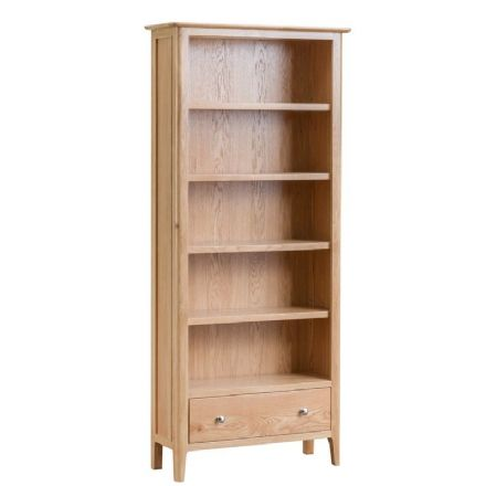 Newhaven Oak Large Bookcase